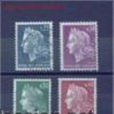 Sellos: MARIANNE DE CHAFFER. FRANCIA . SELLOS DE LOS AÑOS 1967/9. Lote 53950877