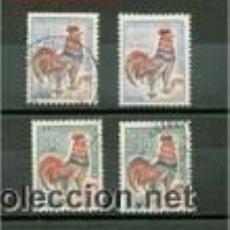 Sellos: GALLO DE DECARIS. FRANCIA AÑOS 1962/65. Lote 53961163