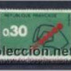 Sellos: CORREOS EN FRANCIA. AÑO 1972. Lote 53961454