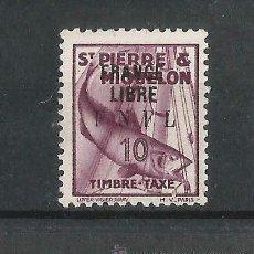 Sellos: SAN PEDRO Y MIQUELON 1942 . Lote 54459794