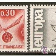 Sellos: FRANCIA YVERT NUM. 1455/1456 ** SERIE COMPLETA SIN FIJASELLOS. Lote 151721933