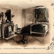 Sellos: CIRCULADA DE PARIS A DORDOGNE AÑO 1901, VERSAILLES, PALAIS DU PETIT TRIANON CHAMBRE MARIE-ANTOINETTE. Lote 56147755