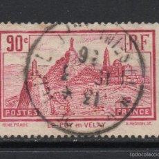 Sellos: FRANCIA 290 - AÑO 1933 - PAISAJES Y MONUMENTOS - LE PUY EN VELAY. Lote 56580814