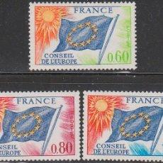Sellos: FRANCIA, OFICIAL IVERT 46, PARA USO DEL CONSEJO DE EUROPA, NUEVO ***. Lote 56879334