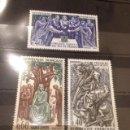 Sellos: SELLOS FRANCIA 1967 FIGURAS HISTORICAS FRANCESAS. Lote 58088179