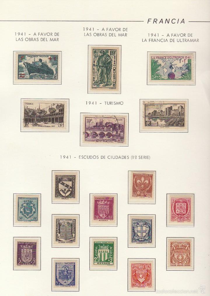 Sellos: COLECCIÓN años 1850/1959 (ÁLBUMES) - Foto 45 - 59633071