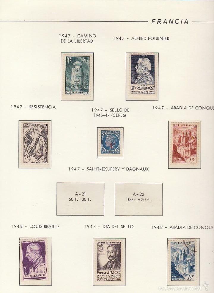 Sellos: COLECCIÓN años 1850/1959 (ÁLBUMES) - Foto 70 - 59633071