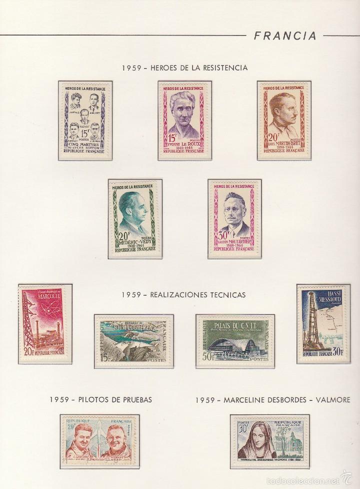 Sellos: COLECCIÓN años 1850/1959 (ÁLBUMES) - Foto 117 - 59633071