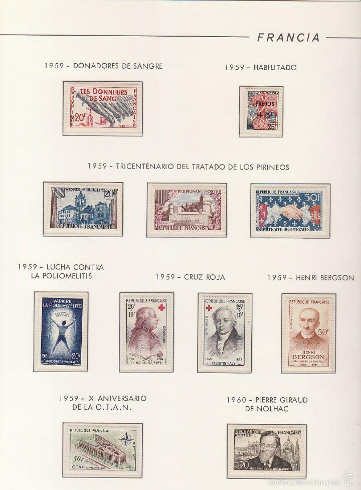 Sellos: COLECCIÓN años 1850/1959 (ÁLBUMES) - Foto 119 - 59633071