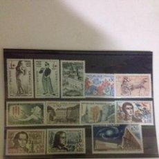 Sellos: LOTE 12 SELLOS AÑO 1963 NUEVOS. Lote 60083791