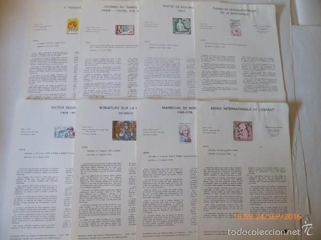 FRANCIA DOCUMENTOS OFICIALES DE 1979 Y ANDORRA, (Sellos - Extranjero - Europa - Francia)