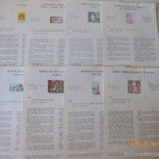 Sellos: FRANCIA DOCUMENTOS OFICIALES DE 1979 Y ANDORRA,. Lote 61271039