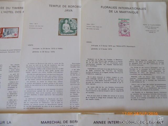 Sellos: francia documentos oficiales de 1979 y andorra, - Foto 3 - 61271039