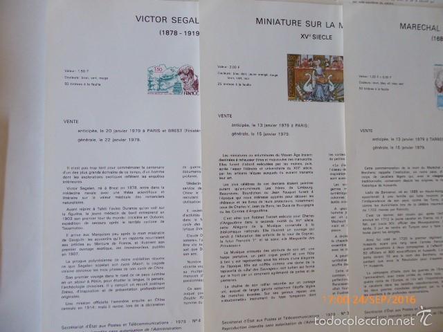 Sellos: francia documentos oficiales de 1979 y andorra, - Foto 4 - 61271039