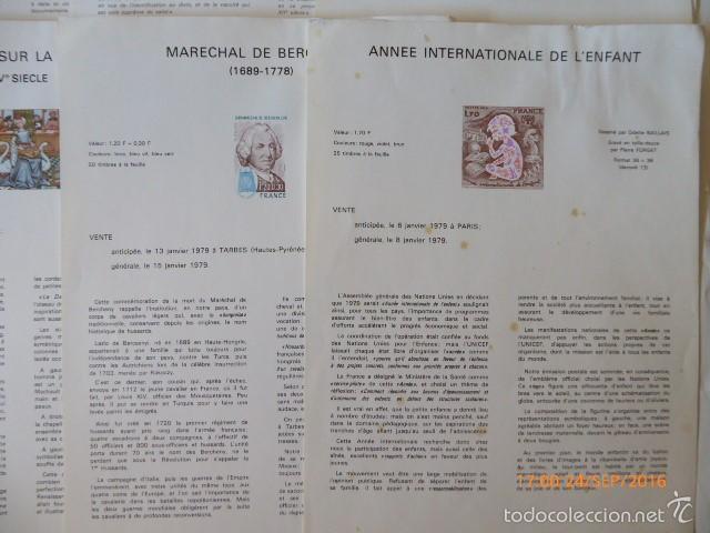 Sellos: francia documentos oficiales de 1979 y andorra, - Foto 5 - 61271039
