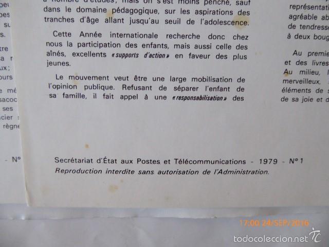 Sellos: francia documentos oficiales de 1979 y andorra, - Foto 6 - 61271039