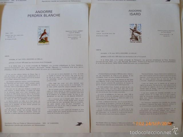 Sellos: francia documentos oficiales de 1979 y andorra, - Foto 11 - 61271039