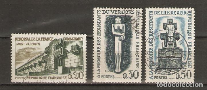 FRANCIA. 1962. YV Nº 1335,1336,1337 (Sellos - Extranjero - Europa - Francia)