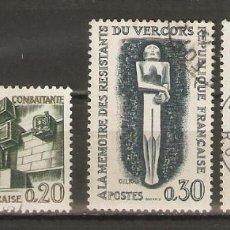 Sellos: FRANCIA. 1962. YV Nº 1335,1336,1337 . Lote 62191884
