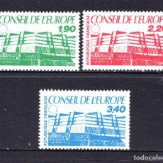 Sellos: FRANCIA SERVICIO 93/95** - AÑO 1986 - CONSEJO DE EUROPA . Lote 62229536