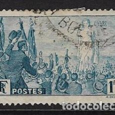 Stamps - FRANCIA - CLÁSICO. Yvert nº 328 usado y defectuoso - 65811990