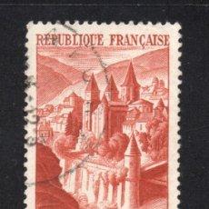 Sellos: FRANCIA 792 - AÑO 1947 - ABADÍA DE CONQUES. Lote 184277090