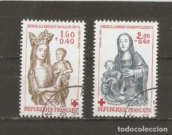 FRANCIA. 1957. YV Nº 1140,1141 (Sellos - Extranjero - Europa - Francia)
