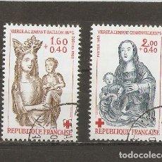 Sellos: FRANCIA. 1957. YV Nº 1140,1141. Lote 67683041