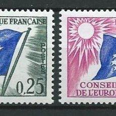 Sellos: FRANCIA, CONSEJO DE EUROPA, 1963, MNH**. Lote 69904781