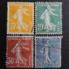 Sellos: FRANCIA YVERT 1921 - 1922 SERIE COMPLETA USADO. Lote 71290039