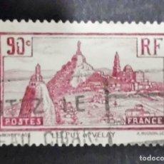 Sellos: FRANCIA 1933 LE PUY EN VELAY USADO YVERT 290. Lote 71405327