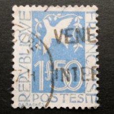 Sellos: FRANCIA 1934 PALOMA DE LA PAZ DE DARAGNES USADO YVERT 294. Lote 71406011
