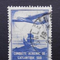 Sellos: FRANCIA 1936 LA 100 TRAVESIA DEL ATLANTICO SUR YVERT 320. Lote 71414071
