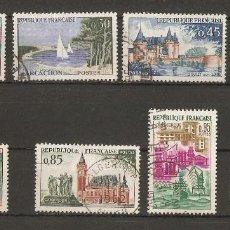 Timbres: FRANCIA. 1961-62. YV N º 1311/1318.. Lote 74284763