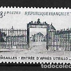 Sellos: FRANCIA 1954 REJA DE ENTRADA DEL CASTILLO DE VERSALLES. Lote 74377103