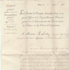 Sellos: TABACS...............PARIS .1813.. Lote 79227253