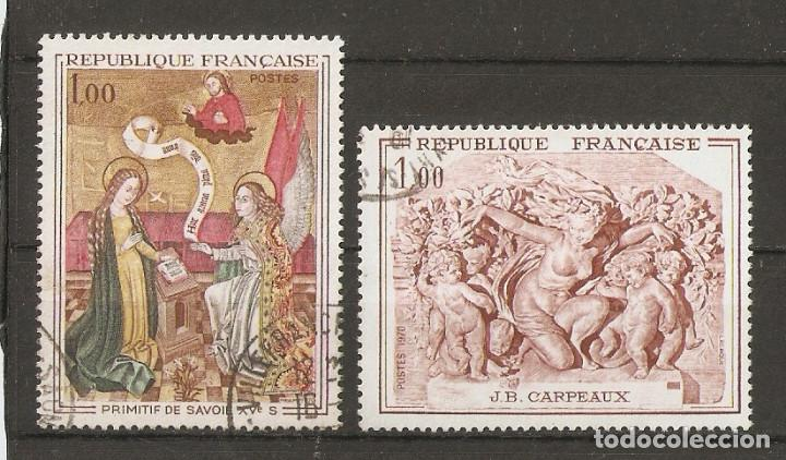 FRANCIA. 1970. YV.Nº 1640,1641 (Sellos - Extranjero - Europa - Francia)