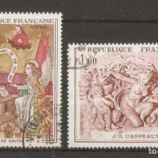 Sellos: FRANCIA. 1970. YV.Nº 1640,1641. Lote 79625325