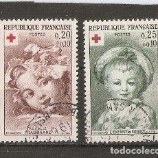 Sellos: FRANCIA. 1962. YV.Nº 1366,1367. Lote 79631429
