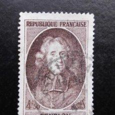 Sellos: FRANCIA 1947, EN HONOR A FENELON, USADO. Lote 82981940