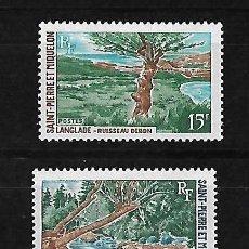 Sellos: SAN PEDRO Y MIQUELON 1969 PAISES SERIE COMPLETA NUEVOS SIN CHARNELA. Lote 83369232