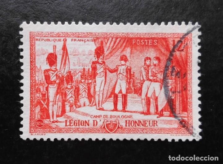 FRANCIA 1954, 150 ANIVERSARIO DE LA LEGIÓN DE HONOR (O) (Sellos - Extranjero - Europa - Francia)
