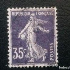 Sellos: FRANCIA , YVERT Nº 135 A VIOLETA. Lote 84617364