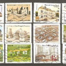Sellos: YT 865-76 AA FRANCIA 2013 COMPLETA - PALACIOS Y CASTILLOS III. Lote 115294179