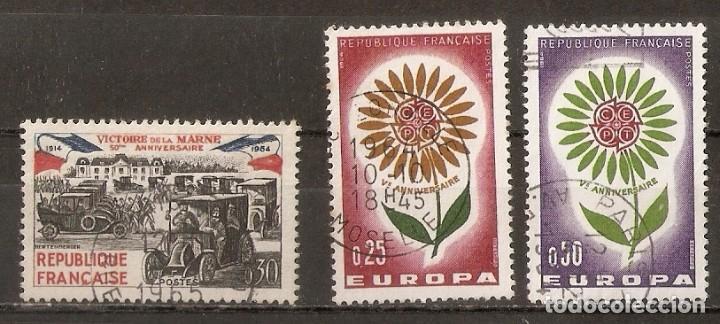 FRANCIA.1964. YV. Nº 1429,1430,1431 (Sellos - Extranjero - Europa - Francia)