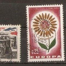 Sellos: FRANCIA.1964. YV. Nº 1429,1430,1431. Lote 93043410