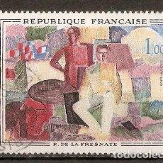 Sellos: FRANCIA. 1961. YV.Nº 1322. Lote 93094325