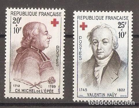 FRANCIA. 1959. YV.Nº 1226,1227 (Sellos - Extranjero - Europa - Francia)