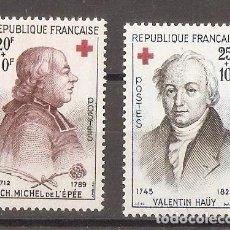 Sellos: FRANCIA. 1959. YV.Nº 1226,1227. Lote 93109960