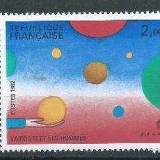 Sellos: R18/ FRANCIA NUEVOS ** MNH, Y&T 2199/00, 1982. Lote 93924205